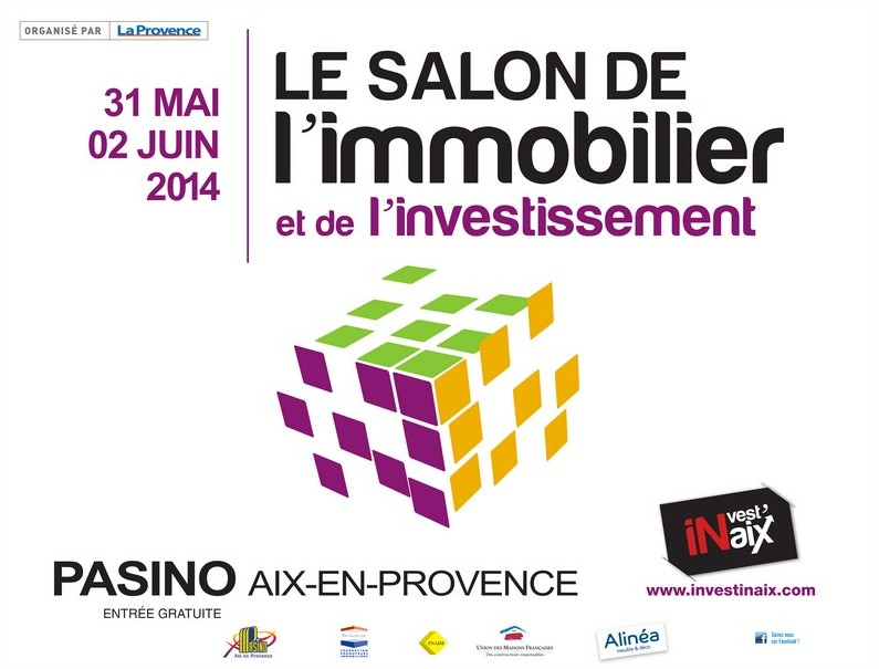 salon de l 39 immobilier du 31 mai au 2 juin 2014 aix en provence. Black Bedroom Furniture Sets. Home Design Ideas