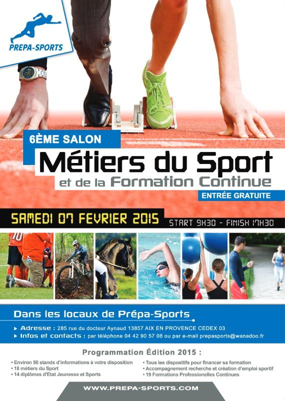 6 me salon des m tiers du sport samedi 7 f vrier 2015 - Entree gratuite salon agriculture 2015 ...