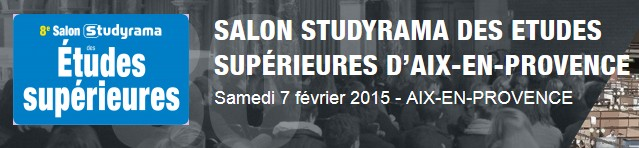 Salon studyrama des tudes sup rieures samedi 7 f vrier for Salon studirama