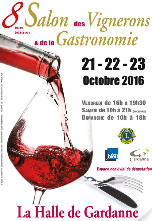 8 me salon des vignerons et de la gastronomie du 21 au for Salon de la photo 2016