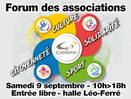 Forum des associations 2017 Gardanne