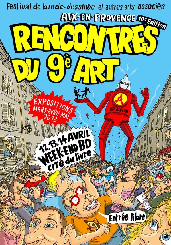 Rencontre bd aix