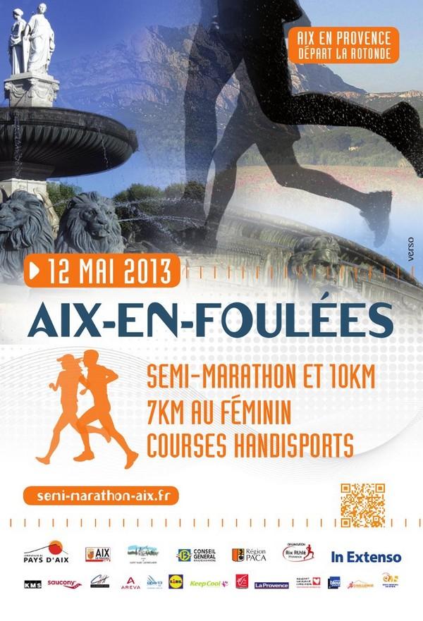 Semi marathon aix en foul es dimanche 12 mai 2013 aix - Bureau de poste la rotonde aix en provence ...