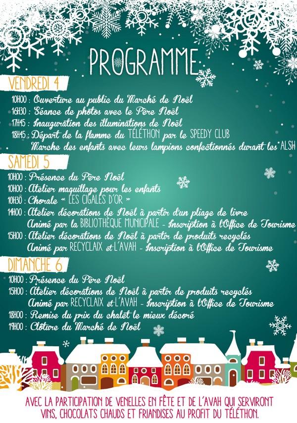 March de no l du 4 au 6 d cembre 2015 venelles - Programme cinema les arcades salon de provence ...