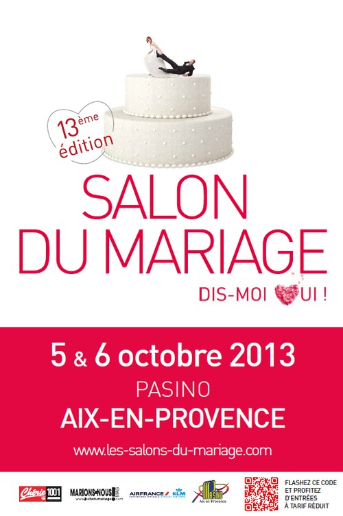 13 me salon du mariage dis moi oui 5 et 6 octobre 2013 aix en provence. Black Bedroom Furniture Sets. Home Design Ideas